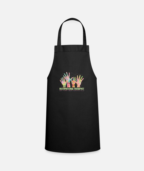 Occupational Therapy Aprons - occupational Therapy - Apron black