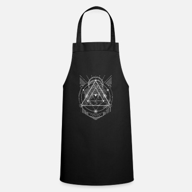 Sacred Geometry The Mighty Metatron Sacred Geometry Gift Designs - Apron