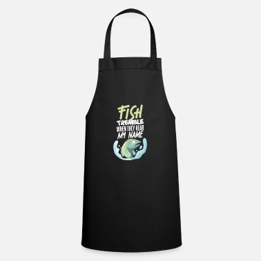 Angler fish fishing Funny saying gift - Apron