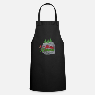 Climber Climbing bouldering Mountaineering Christmas gift - Apron