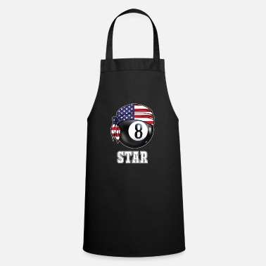 Take Mens Pool Star Jersey | Gift for Billiards Player - Apron
