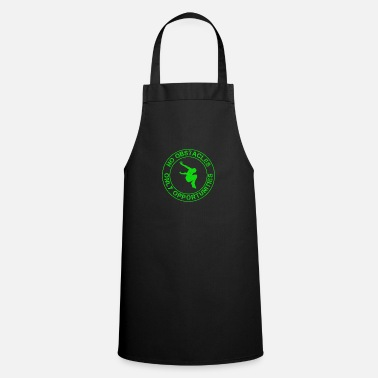 Challenger No obstacles only opportunities parkour - Apron