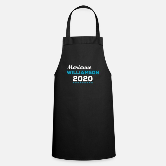 Love Aprons - Marianne Williamson 2020 Presidential Campaign - Apron black