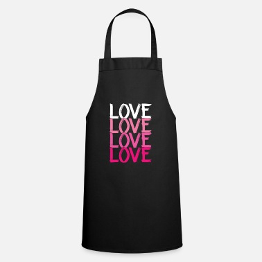 Love Loved Loved Love Love Love Love - Apron