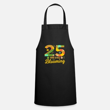 25 Years 25th birthday party gift idea - Apron