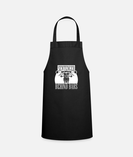 Motorcycle Aprons - motorcycle - Apron black