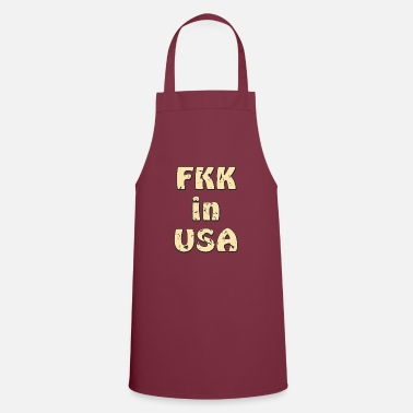 Prohibition Design nudist in USA - Apron
