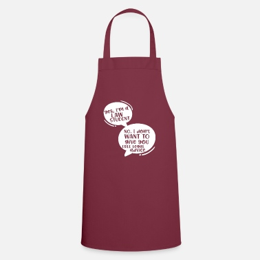 Girlfriend Yes I'm A Lawyer No I Don't Want To Give You Free - Apron
