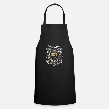 1978 Vintage Limited Edition Made In 1978 Birthday Gift - Apron