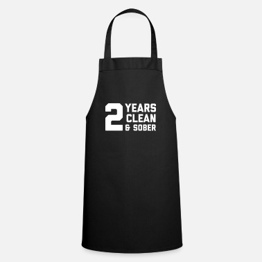 Anonymous Sober AF 2 Years product - Two Anniversary - Apron