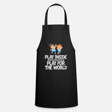 Classy Play Inside Kids Social Distancing Stay At Home Fu - Apron