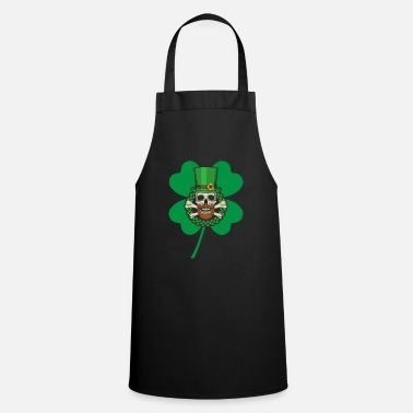 Nothing Patrick's Day Skull Green - Apron