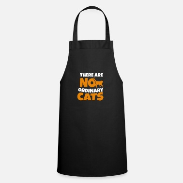 Domestic Cat Cat Maine Siam Coon Persian cat hangover gift - Cooking Apron