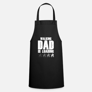 Expectant dad gives birth to child baby - Apron