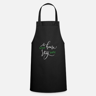 Stay Home Stay Save - Apron