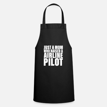 Airline Airline Pilots Mom Design voor Airline Pilots - Schort
