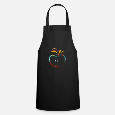 Paint Brush Apple - Cooking Apron