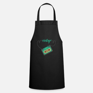 Birthday 1973 Cassette Music Vintage Retro Gift - Cooking Apron
