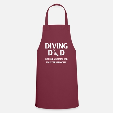 Apnoe Diving dad - Apron