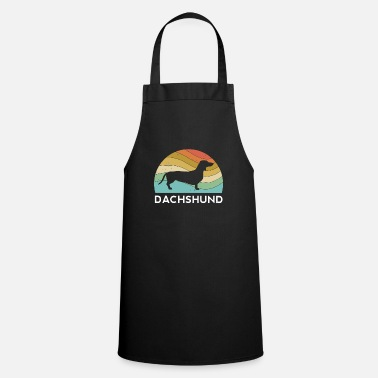 Dachshund Dog Dad Mom Life Lover Animal Rescue - Apron