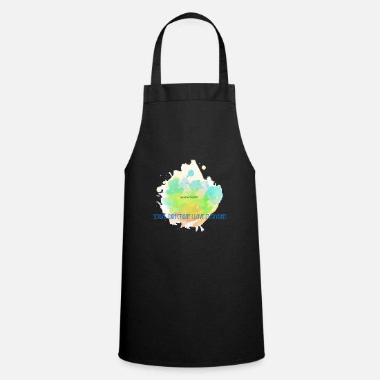 Provocation Aprons - Sexual Direction - Apron black