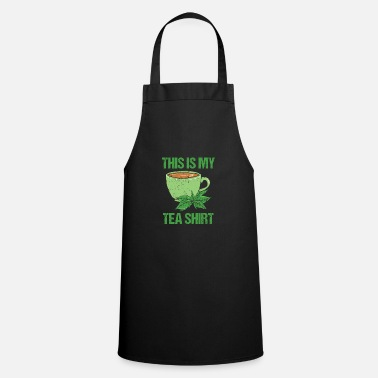 Coppa This Is My Tee Shirt Cool Herbal Coffee Cup Leaf - Grembiule