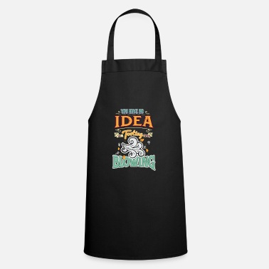 Blasen Funny Denglish saying Denglisch sayings - Cooking Apron