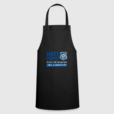 Police Policeman Help Friend and Helper Gift - Cooking Apron