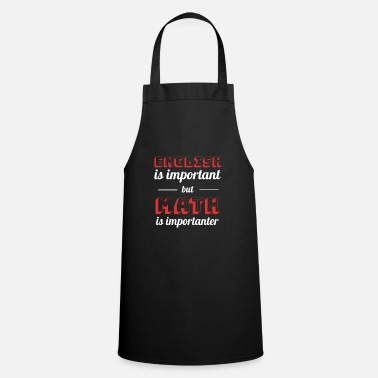 Math Math is Math - Math Gifts - Cooking Apron
