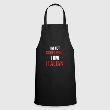 Italian Italian joke - gift idea for Italians - Cooking Apron