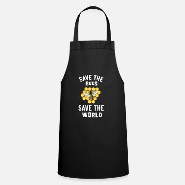 Save Save the bees, save the world - Cooking Apron