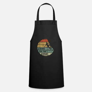 Alps Living on the edge - climbing, bouldering, climbing - Cooking Apron