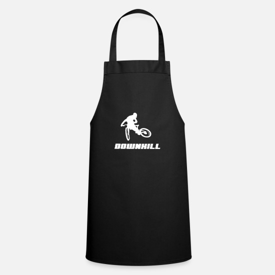 Cycling Aprons - Downhill, mountain bike, gift, MTB - Apron black