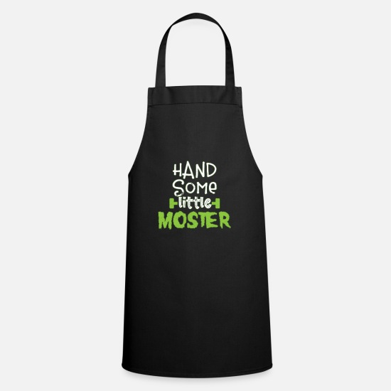 Gift Idea Aprons - Halloween scary monster - Apron black