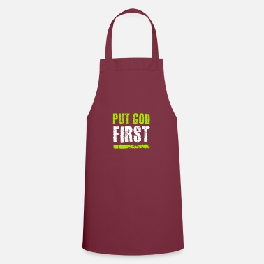 God first - Apron