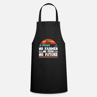 Food No farmer no food no future - Farmer - Apron