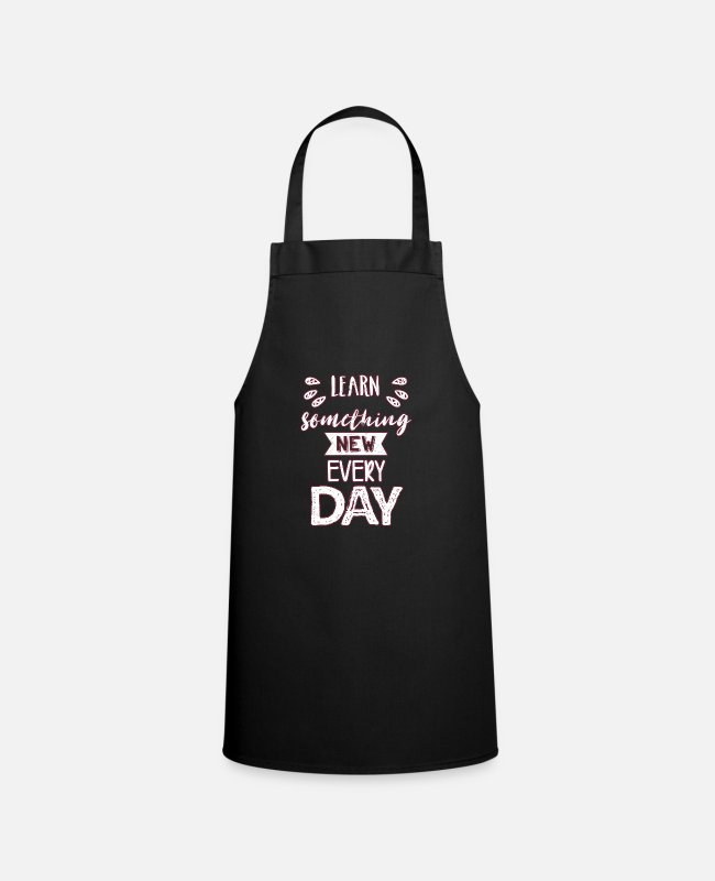 Quote Aprons - Wisdom sayings - Apron black
