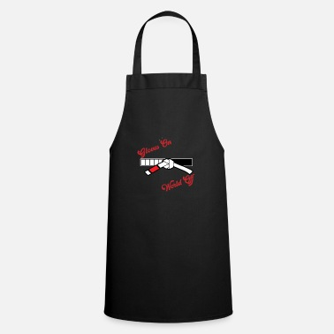Match Glove on world off - Martial arts gift - Apron