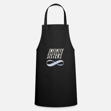 Family Values Sisters Forever Family Values Gift Gemini - Apron