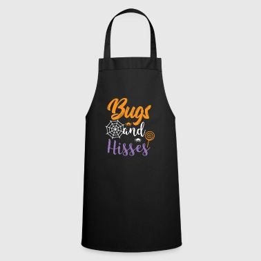 Halloween Shirt Bugs And Hisses Gift Tee - Cooking Apron