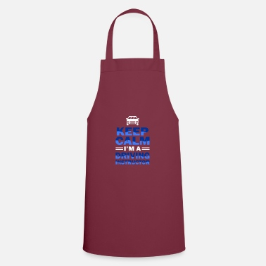 Instructor driving instructor - Apron
