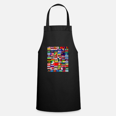 World Flags Flags from around the world 2 - Apron