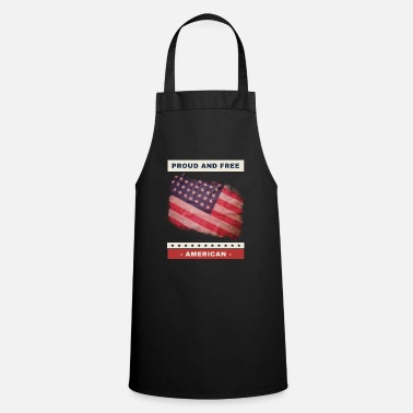 Surprise Proud and Free American - Apron