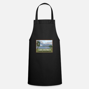 Lake District windermere in the lakes Cumbria - Apron