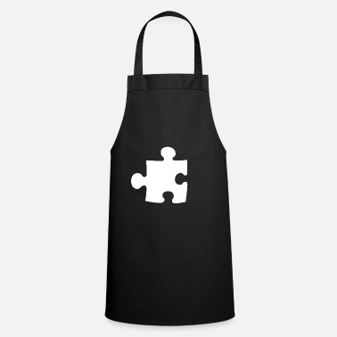 Couples Puzzle Piece Partner Couple Couple Loving Couple - Apron