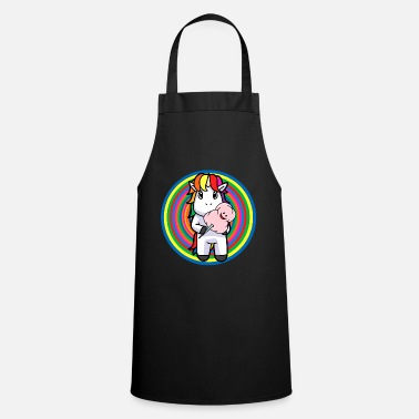 Kids Picture Unicorn kids birthday party kids day baby child - Apron