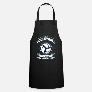 I Love Volleyball Sport Beach Volleyball Gift - Apron