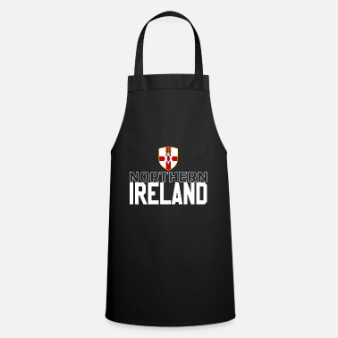Northern Ireland Northern Ireland retro jersey - Cooking Apron