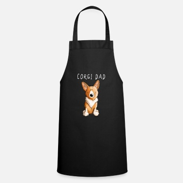 Welsh Welsh Corgi dad I comic dogs - Apron