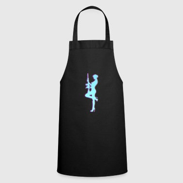 Women gun rifle shooter rifle gun right - Cooking Apron